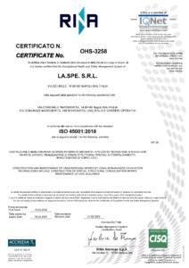 LA.SPE. - ISO 45001